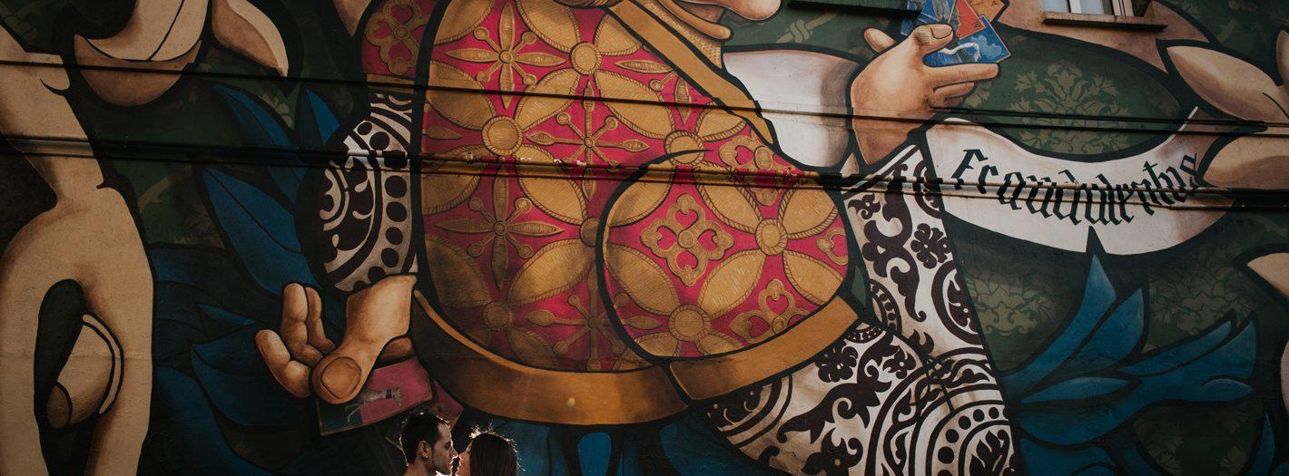 La ciudad pintada - Preboda en Vitoria