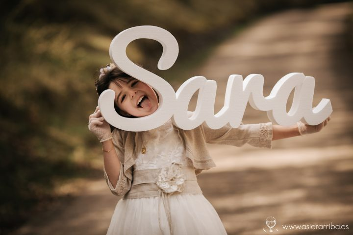 Comunion en exterior - Sara